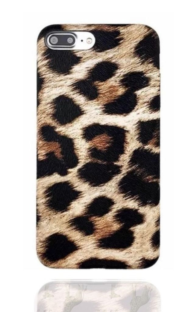 Brown Leopard Phone Case by Coconut Lane