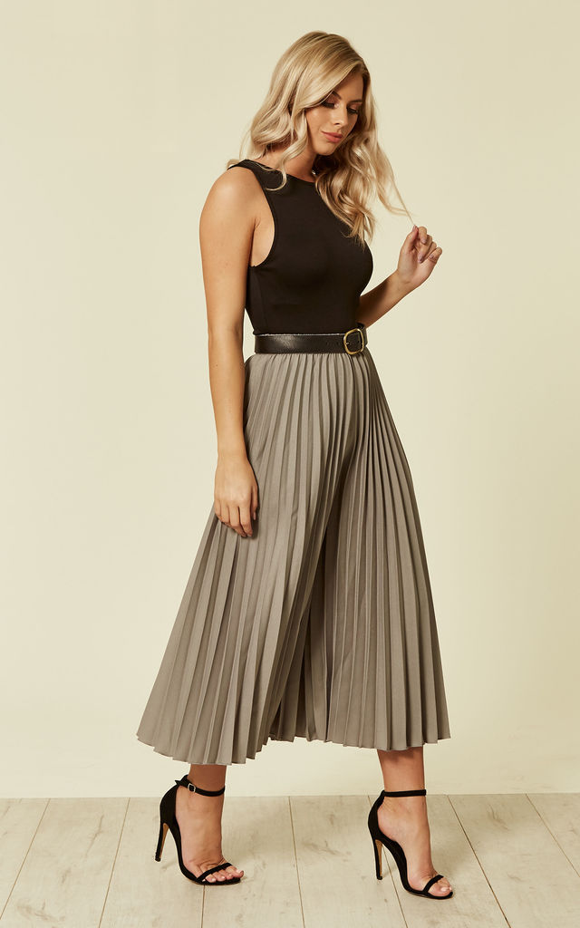 Rohim Culotte in Grey by Lace & Beads