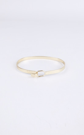 Gold Minimalist Style Bangle by LOVEMYSTYLE