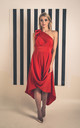 Blood Orange Jessie Dress by Blonde And Wise