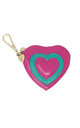 PINK AND GREEN HEART COIN PURSE by Luna Love London