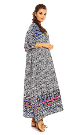 Kaftan style maxi Dress by Looking Glam