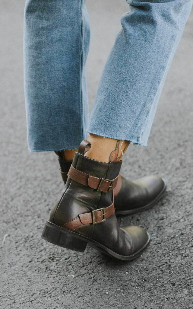 Tara Brown Ankle Boots by Artemisia
