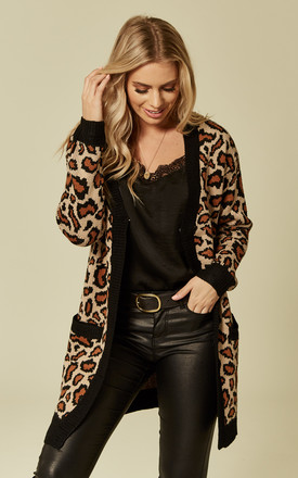 Leopard Cardigan by Liquorish