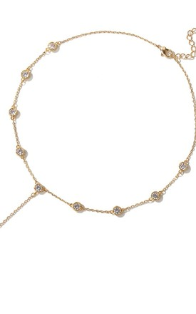 Slinky Gem Choker Necklace by HAUS OF DECK