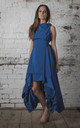 Royal Blue Wendy Dress by Blonde And Wise