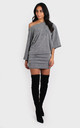 Claudia Dress Silver by Bullet