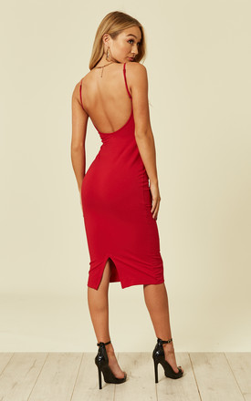 Nata Dress in Pomegranate by Manners London