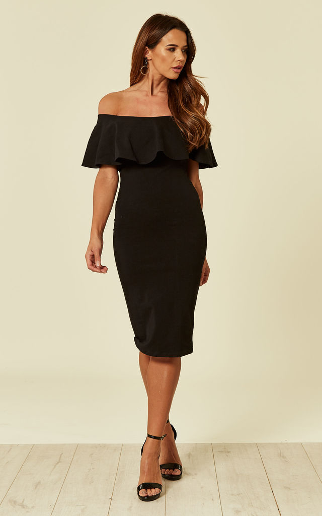 Diida Dress in Blackest by Manners London