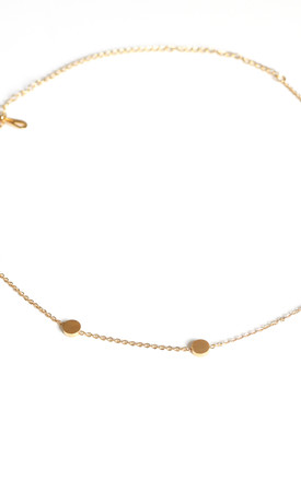 Delicate Gold Choker Necklace by Free Spirits