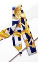 Navy Silk Tie by Florence London