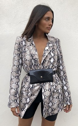 Kendall Snake Print Blazer by Hey Pretty