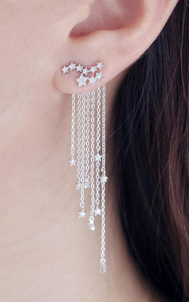Cascading Star Ear Jackets by Apache Rose London Product photo