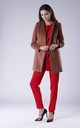 Brown Coat With Open Front by Bergamo