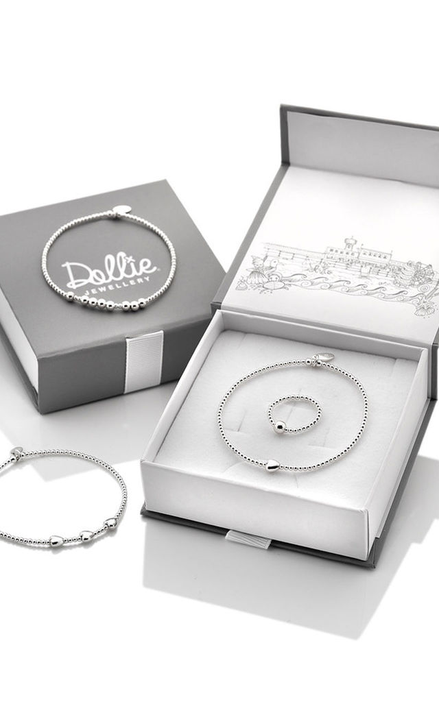 Sterling Silver Queen Bee Silver Bracelet by Dollie Jewellery