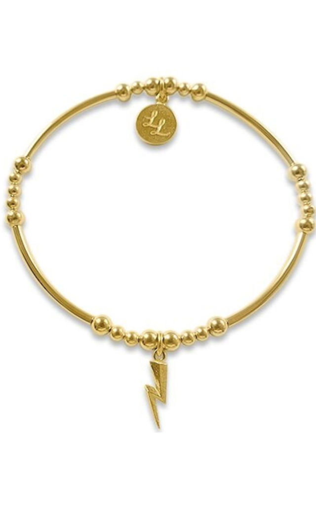 NEW YELLOW GOLD ANNIE LIGHTNING by LL Loves UK Jewellery