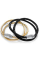 ROSIE ROSE BLACK OR GOLD LEATHER 2 WRAP by LL Loves UK Jewellery