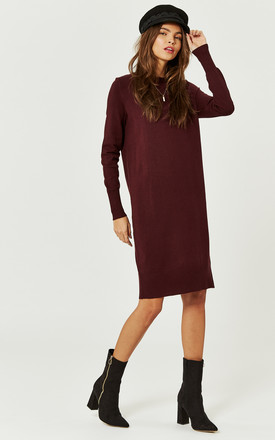 Port Royale Long Sleeve Knitted Dress by Noisy May