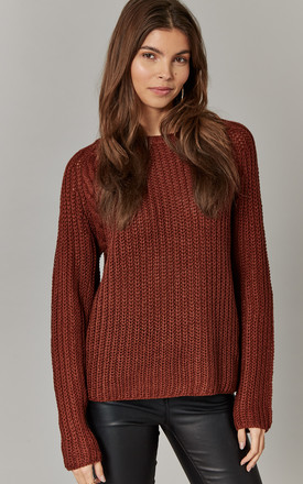 Cherry Round Neck Pullover Knit by ONLY Product photo
