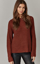 Cherry Round Neck Pullover Knit by ONLY