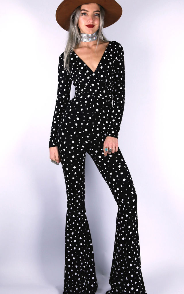 Band of Stars Jumpsuit by Willows Call