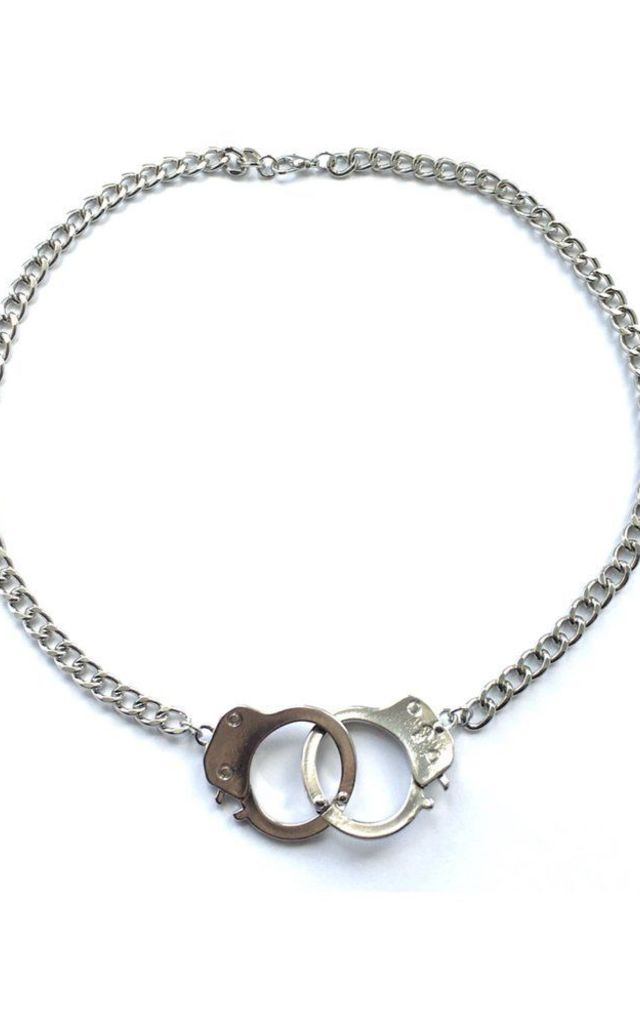 In Chains Handcuff necklace by MoonChild