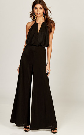 Black Marylebone Jumpsuit by The Jetset Diaries Product photo