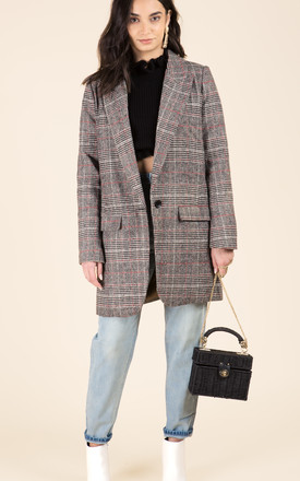 Check Oversized Coat by We Run This Product photo