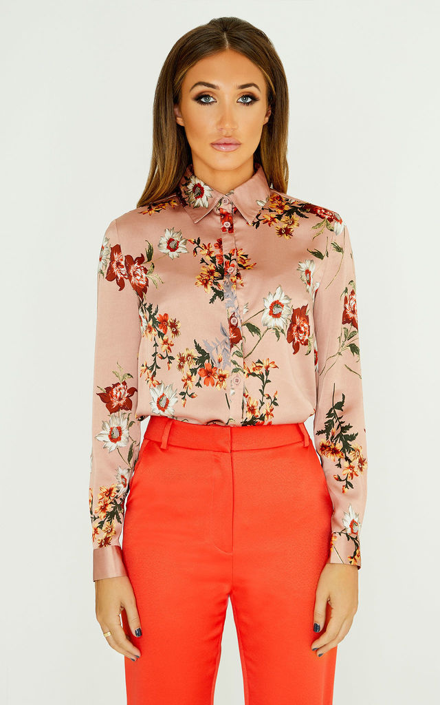 Classic Shirt In Floral Print by Studio Mouthy
