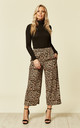 Wide Leg Culottes Leopard print by likemary