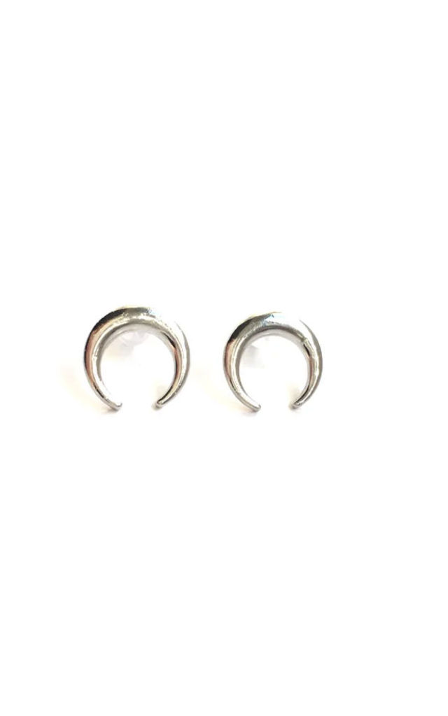 Moonchild moon stud earrings by MoonChild
