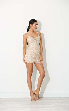 Melia Sequin Embellished Playsuit by New Age Rebel Product photo