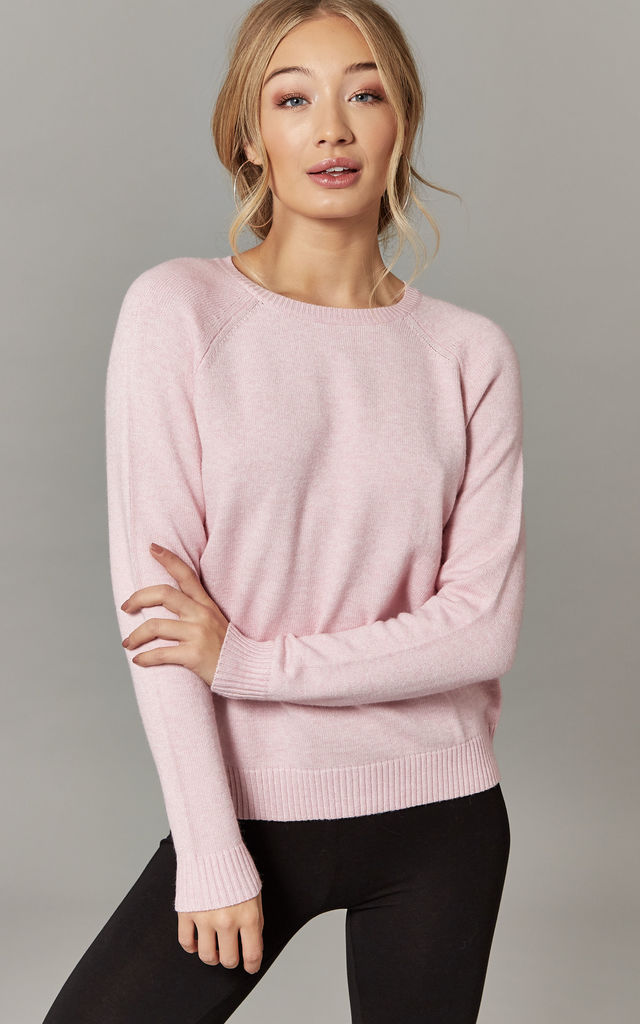 Light Pink Long Sleeve Pullover by ONLY