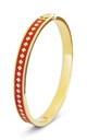 Diamond Enamel Bangle For Her (RED) by Florence London