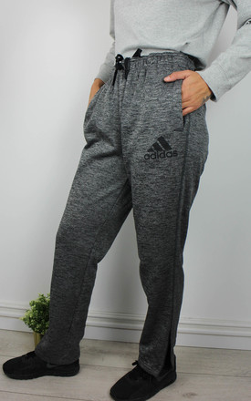 Vintage Adidas Joggers Sweatpants with Logo Front & Zip Hem by Re:dream Vintage