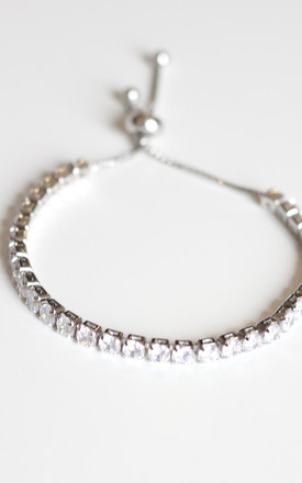 Silver Diamond Bracelet by Free Spirits