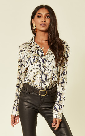 Laura Gold Snake Shirt by Foreva Young