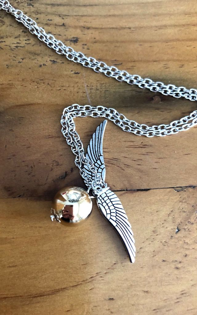 Aryas silver angel wings necklace by Lovelock jewels