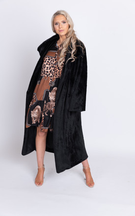 Chicago teddy bear fur delux coat by Miss Attire