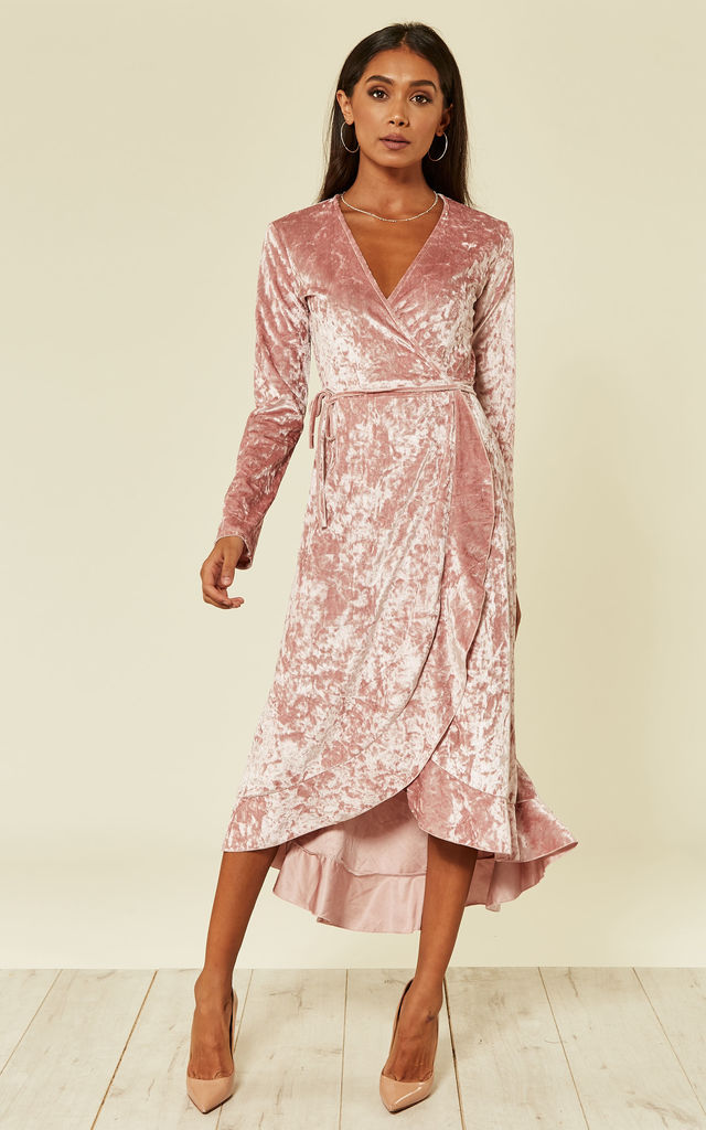 The Chelsea wrap dress by From London with Love
