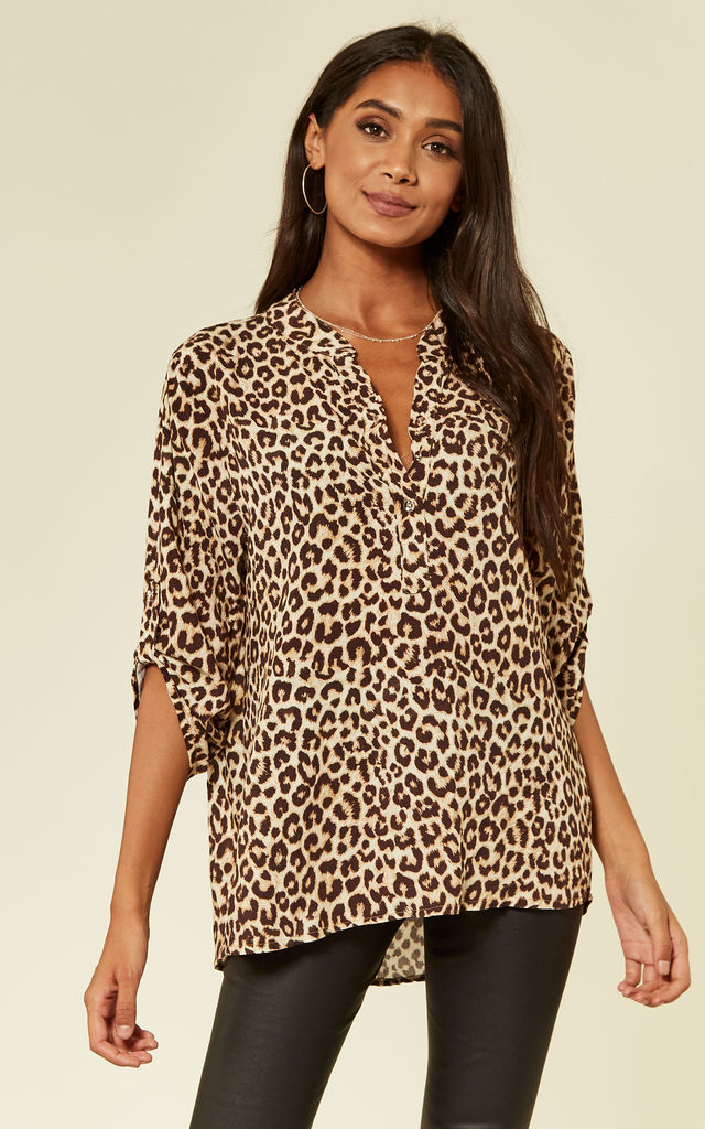 Leopard print blouse by From London with Love