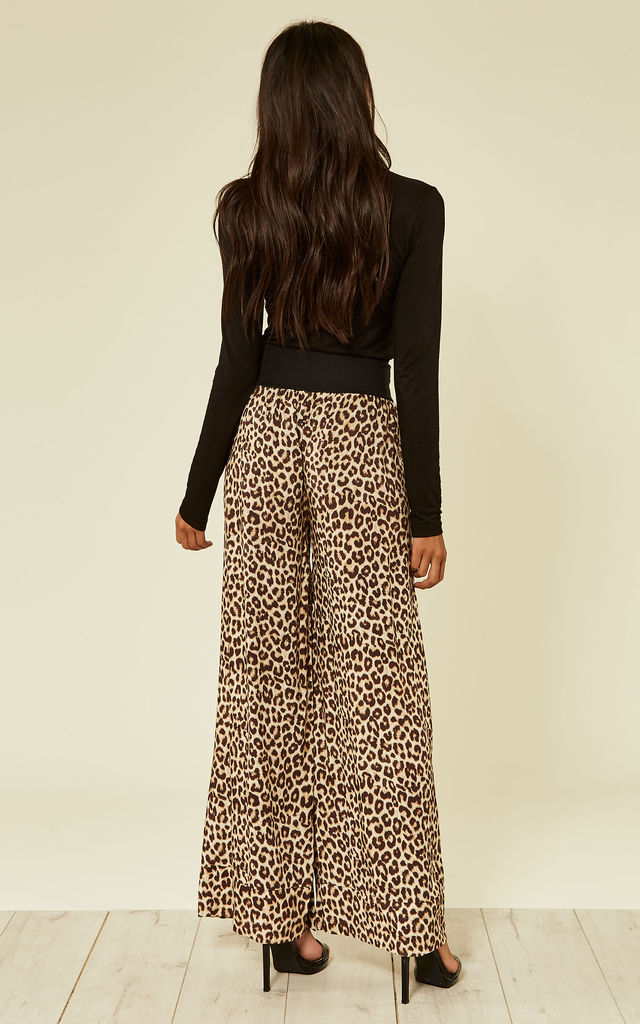 leopard print 60s trousers by From London with Love