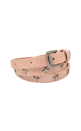 Star Studded Belt Pink by White Leaf Product photo