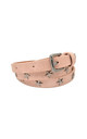 Star Studded Belt Pink by White Leaf