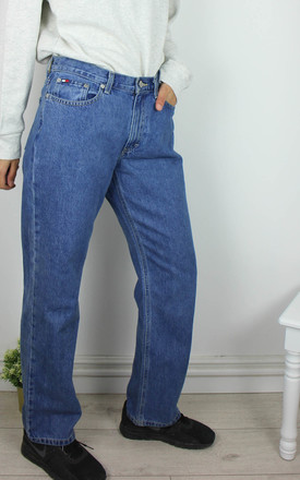 Vintage Tommy Hilfiger Jeans with Logo Front & Back by Re:dream Vintage