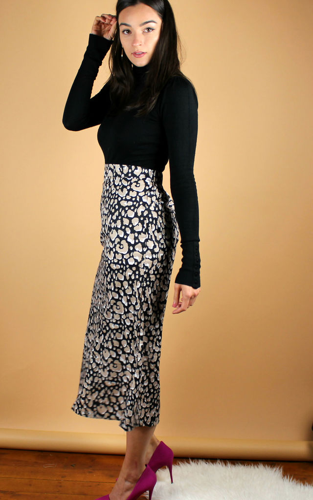 Animal Print Skirt by HAUS OF DECK