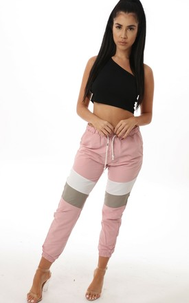 Evie Contrast Panel Joggers by Auroras Angels