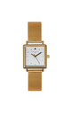 Square Gold Mesh Watch by Johnny Loves Rosie