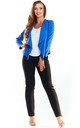 Fitted Open Blazer in Bright Blue by AWAMA