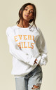 BEVERLY HILLS SWEATER WHITE by Cats got the Cream